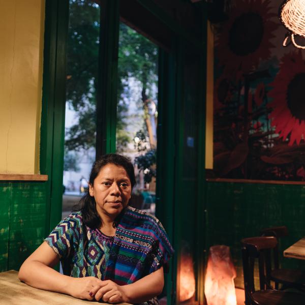 Lolita, la cara feminista de Guatemala